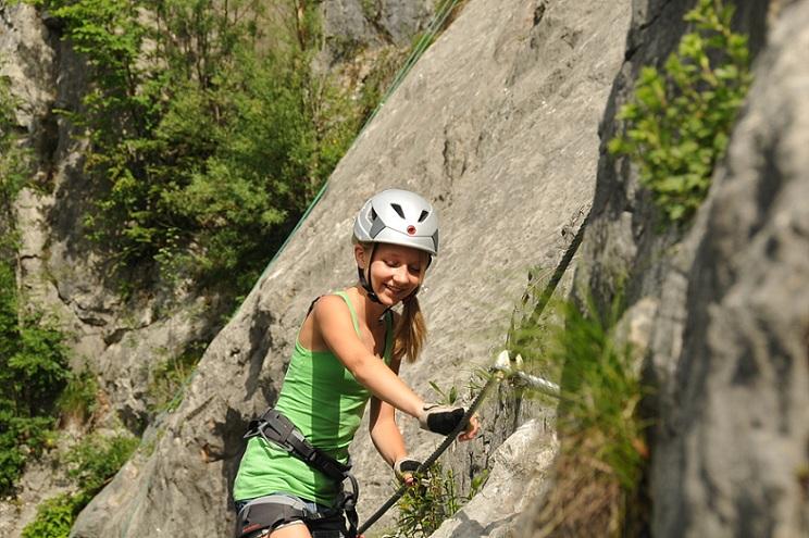Klettersteig Weiße Gams : Weisse gams klettersteig youtube